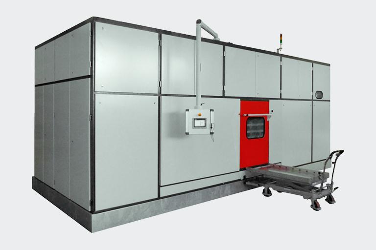 R4 effizienteTeilereinigung für große Volumina